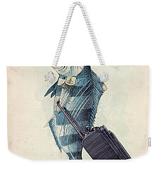 The Pilot Weekender Tote Bag by Eric Fan
