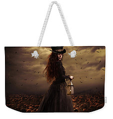 The Pumpkin Patch Weekender Tote Bag by Shanina Conway