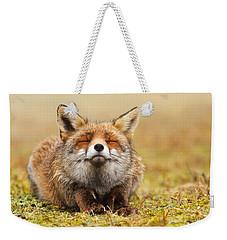 The Smiling Fox Weekender Tote Bag by Roeselien Raimond