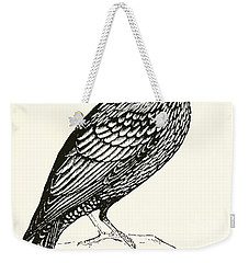 The Starling Weekender Tote Bag by English School