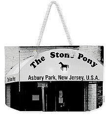 The Stone Pony Asbury Park Nj Weekender Tote Bag by Terry DeLuco