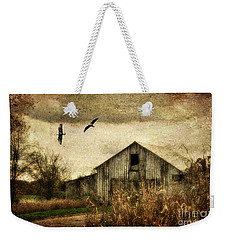 The Times They Are A Changing Weekender Tote Bag by Lois Bryan