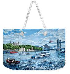 The Tower Of London Weekender Tote Bag by Steve Crisp