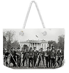 The White House Photographers Weekender Tote Bag by Jon Neidert
