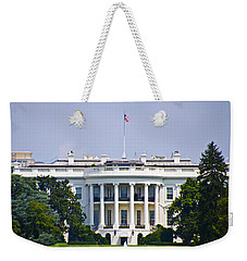 The Whitehouse - Washington Dc Weekender Tote Bag by Bill Cannon