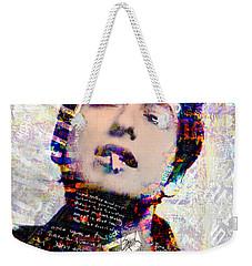 The Wordsmith Weekender Tote Bag by Mal Bray