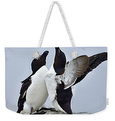 This Much Weekender Tote Bag by Tony Beck