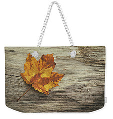 Three Leaves Weekender Tote Bag by Scott Norris