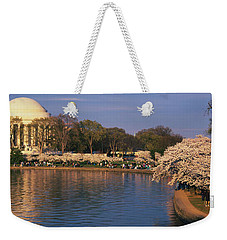 Tidal Basin Washington Dc Weekender Tote Bag by Panoramic Images