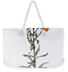 Tiger Lily Weekender Tote Bag by Pierre Joseph Redoute