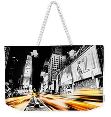 Time Lapse Square Weekender Tote Bag by Andrew Paranavitana