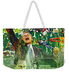 Tom Izzo String Music Weekender Tote Bag by John Farr