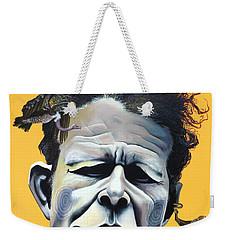 Tom Waits - He's Big In Japan Weekender Tote Bag by Kelly Jade King