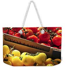 Tomatoes On The Market Weekender Tote Bag by Elena Elisseeva