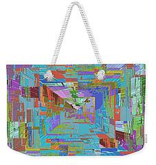 Topographic Albatross Weekender Tote Bag by Tim Allen