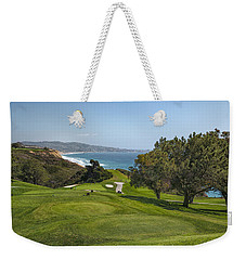Torrey Pines Golf Course North 6th Hole Weekender Tote Bag by Adam Romanowicz