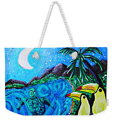 Toucan Bay Weekender Tote Bag by Sarah Loft