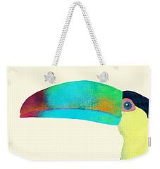 Toucan Weekender Tote Bag by Eric Fan