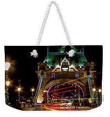 Tower Bridge Weekender Tote Bag by Martin Newman