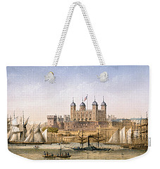 Tower Of London, 1862 Weekender Tote Bag by Achille-Louis Martinet