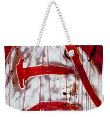 Train Graffiti Michael Jackson Weekender Tote Bag by Carol Leigh