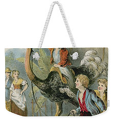 Training The Ostrich Weekender Tote Bag by English School