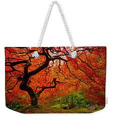 Tree Fire Weekender Tote Bag by Darren  White