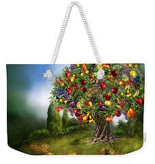 Tree Of Abundance Weekender Tote Bag by Carol Cavalaris