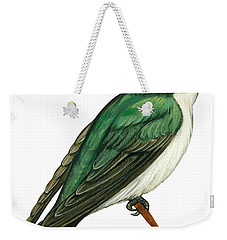 Tree Swallow  Weekender Tote Bag by Anonymous