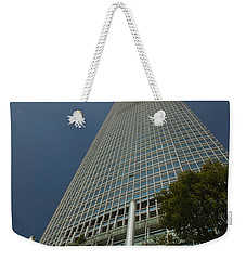 Trees In Front Of A Building, Two Weekender Tote Bag by Panoramic Images