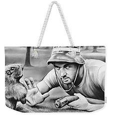 Tribute To Caddyshack Weekender Tote Bag by Greg Joens