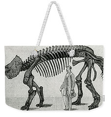 Triceratops Weekender Tote Bag by English School