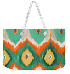 Tropical Ikat II Weekender Tote Bag by Patricia Pinto