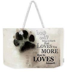True Love - By Sharon Cummings Words By Billings Weekender Tote Bag by Sharon Cummings