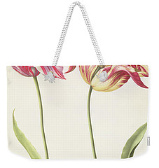 Tulips Weekender Tote Bag by Nicolas Robert