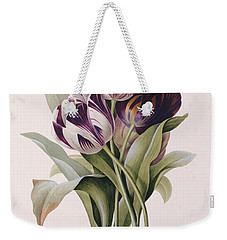Tulips Weekender Tote Bag by Pierre Joseph Redoute
