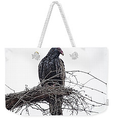 Turkey Vulture Weekender Tote Bag by Douglas Barnard