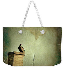 Turkey Vulture Weekender Tote Bag by Gothicolors Donna