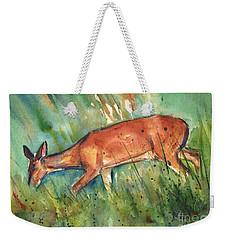 Twilight Weekender Tote Bag by Maria's Watercolor
