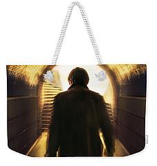 Underpassing Man Weekender Tote Bag by Carlos Caetano