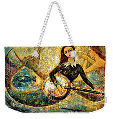 Undersea Weekender Tote Bag by Shijun Munns