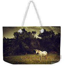 Unicorn Weekender Tote Bag by Carlos Caetano