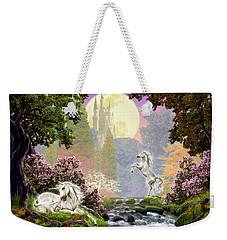 Unicorn New Born Weekender Tote Bag by Garry Walton