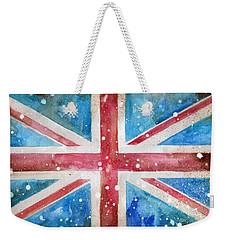 Union Jack Weekender Tote Bag by Sean Parnell