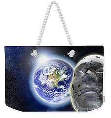 Alone In The Universe Weekender Tote Bag by Stefano Senise