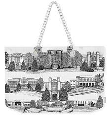 University Of Arkansas Fayetteville Weekender Tote Bag by Liz  Bryant