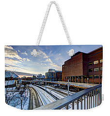 University Of Minnesota Weekender Tote Bag by Amanda Stadther