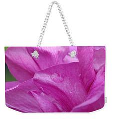 Up Close Weekender Tote Bag by Rona Black