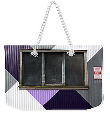 Urban Window- Photography Weekender Tote Bag by Linda Woods