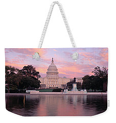 Us Capitol Washington Dc Weekender Tote Bag by Panoramic Images
